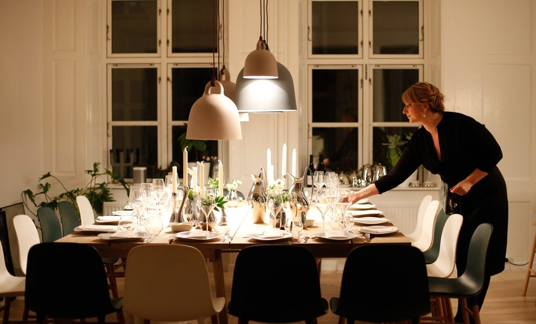 Setting The Holiday Table