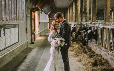 Wedding Elopement Ceremony (cere-mini) at Bakerview Farm